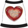 Valentine's Day Heart#1 Dog T-Shirt: Dogs Pet Apparel Tanks