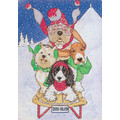 Dog Sled<br>Item number: C416: Dogs Holiday Merchandise