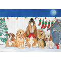 Caroling Canines<br>Item number: C439: Dogs Holiday Merchandise