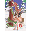 Animail Express<br>Item number: C443: Dogs Holiday Merchandise