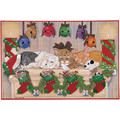 Cat Mantlepieces<br>Item number: C452: Cats Holiday Merchandise