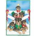 Rottweiler Family Tree<br>Item number: C473: Dogs Gift Products Greeting Cards