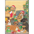 A Glow of all Holiday Pups<br>Item number: C474: Dogs