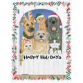 Holiday Friends<br>Item number: C870: Dogs Holiday Merchandise