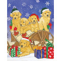 Golden Sleighride<br>Item number: C900: Dogs Holiday Merchandise