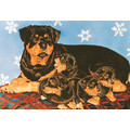 Rottweiler Family<br>Item number: C906: Dogs