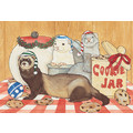 Ferrets<br>Item number: C950: Small animals Holiday Merchandise Holiday Greeting Cards