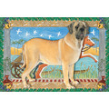Mastiff<br>Item number: C953: Dogs Holiday Merchandise