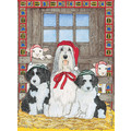 Bearded Collie<br>Item number: C970: Dogs Holiday Merchandise