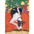 Greyhound Black &amp; White<br>Item number: C957: Dogs