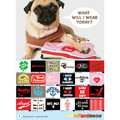 Bandana - Fortune Treats Will Come To Those Who Behave: Dogs Accessories