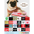 Bandana - Peace (Graphic): Dogs Accessories