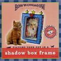 Picture your Pet in a Shadow Box Frame<br>Item number: 00005