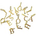 Letter Charms (5/pk) - Gold: Dogs Accessories