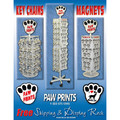 PAW PRINTS MAGNETS STARTER DISPLAY PACKAGE.<br>Item number: 400