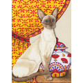 Cats-Siamese Note Cards<br>Item number: N988B: Cats