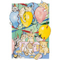 Cats-Birthday Balloons<br>Item number: B411: Cats