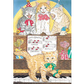 Cats-Piano Kitties<br>Item number: B469: Cats