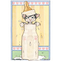 Pet Announcements Cat #2<br>Item number: AN507: Cats Gift Products Greeting Cards