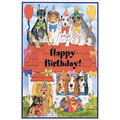 Birthday Invitations Dog #1<br>Item number: I480: Dogs Holiday Merchandise Birthday Items