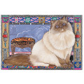 Cats-Himalayan Birthday Cards<br>Item number: B989: Cats