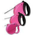 Pink Flexi Leashes: Dogs Collars and Leads Retractable