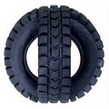 X-Tire Ball - Black (Plastic): Dogs Toys and Playthings Fetch & Tug Toys