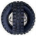 Jingle X-Tire Ball - Black and Siler (Plastic): Dogs Toys and Playthings