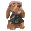 "Corny Dog ""I come from Alabama"" - Camo (Plush)<br>Item number: P19: Dogs Toys and Playthings"