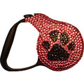 SWAROVSKI RETRACTABLE LEASH - CAVIAR