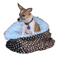 Snuggle Pup 3 'n 1 - Blue Curly: Drop Ship Products