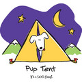 Kid's Pup Tent - Blue: Dogs