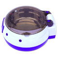 AutoPetBowl (Combo White and Violet): Cats Bowls and Feeding Supplies Feeders
