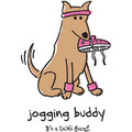 #8 Women's Jogging Buddy: Dogs Products for Humans Apparel