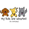 #3 My Kids are Adopted - Yellow: Dogs Products for Humans Apparel