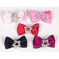 Rhinestone Star Bow Barrette: Dogs