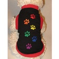 RAINBOW 6-PAW Pride Dog/Cat T-Shirt or Muscle Tank: Cats Pet Apparel