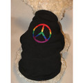 RAINBOW PEACE SIGN Pride Dog/Cat T-Shirt or Muscle Tank: Cats Pet Apparel
