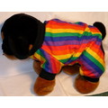 RAINBOW PAJAMAS for Dog/Cat: Cats Pet Apparel Sleepwear