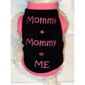 MOMMY + MOMMY = ME Pride Dog/Cat T-Shirt or Muscle Tank: Dogs Holiday Merchandise