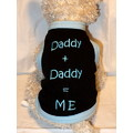 DADDY + DADDY = ME Pride Dog/Cat T-Shirt or Muscle Tank: Dogs Holiday Merchandise Mother/Fathers Day Items