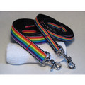 PRIDE PUP RAINBOW DOG LEASH: Dogs Collars and Leads Fabric