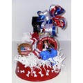 Patriotic Basket<br>Item number: K9C0704: Dogs Bowls and Feeding Supplies Plastic & Polypropylene