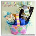 Happy Easter Dog Gift Basket<br>Item number: K9CEB: Dogs Treats Miscellaneous Treats
