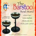 Barstool Adjustable Diner: Dogs Bowls and Feeding Supplies Feeders