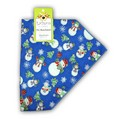 "A Latham & Company bandana ""Snowmen"": Dogs Holiday Merchandise Christmas Items"